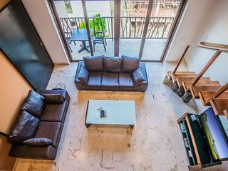 Very Unique 2 Bedroom Plus Loft with Ocean View -El Marine, Riviera Maya