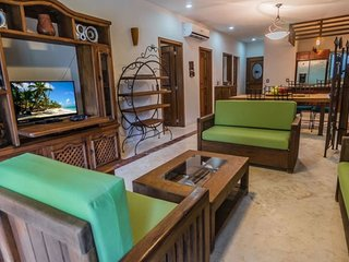 3 Bedroom with Playacar Golf Course view at Paseo del Sol, Playa del Carmen