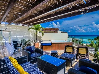 Ocean View Penthouse at The Elements PH 18, Riviera Maya