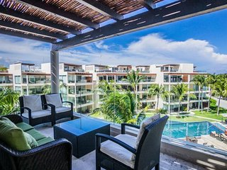 3 Bedroom Beach Front Penthouse at The Elements, Riviera Maya