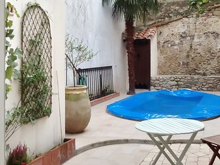 Traditional, 4-bedroom house in Céret with a swimming pool, furnished terrace and fenced garden!, Ceret
