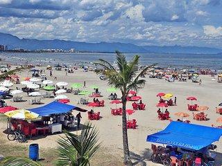 Apartamento na praia em Bertioga!