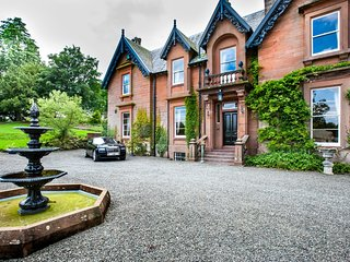 Victorian mansion in Scotland