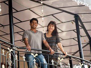 Ajay & Josie - together since 2006 & Married locally in 2009