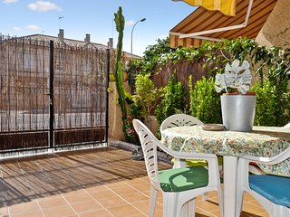 Sunny duplex in San Javier, Spain with a furnished terrace - just 500 metres from the beach!