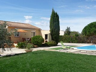 Modern house in Aude, Languedoc-Roussillon, with garden, private pool and WiFi (New for 2016)- sleeps 6, Saint-Nazaire-d'Aude