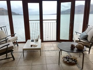Shore Line Apartment overlooking Carlingford Lough