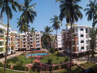 Beautiful 2 Bedroom New Apartment at Candolim Goa
