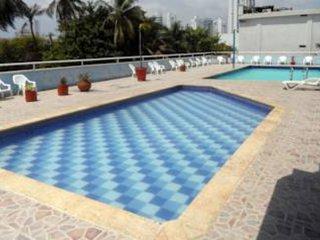 10th floor oceanview beachfront apartment, Cartagena