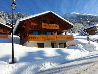 Amazing chalet next to the skilift with nice views