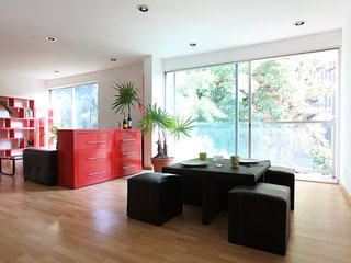Bright, modern 2 bedroom apartment in Roma Nte., Mexico City