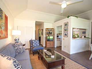 Kiahuna 150-Lovely 1 bd short walk to awesome Poipu beaches. Free midsize car.
