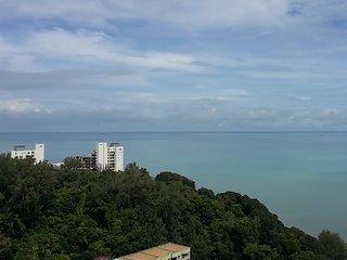 Fantastic View of Sea and Hills of Ferringhi, Batu Ferringhi