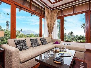 Hillside modern 3 bed pool villa, Koh Samui