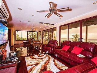 Stylish hilltop 4 bed villa at Nathon, Koh Samui