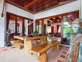 Stylish 3 bed Laem Sor Beach villa, Ko Samui