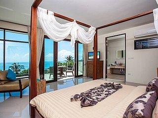 Majestic hillside sea view pool villa, Ko Samui