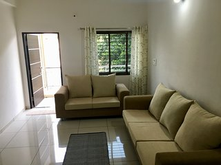 Satvam 1 - Homely 2BR Vacation Rental, Vadodara.