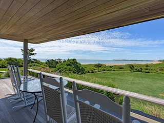 JAFFJ - Ocean House, Waterfont Splendor, Private South Shore Beach, Maginificent Ocean Views, Chilmark