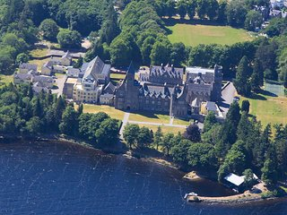 The Old Armoury on Loch Ness at the Highland Club in Fort Augustus, Scotland