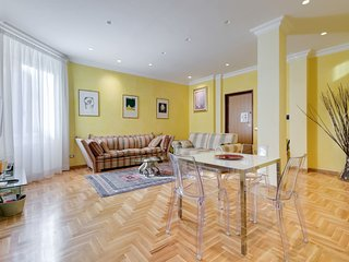 Luxury Suite in Rome, above S. Agnese/Annibaliano subway St.