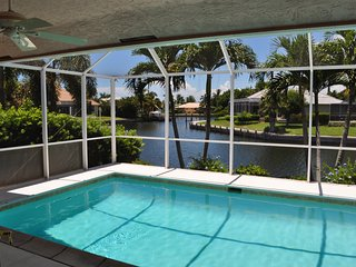 Waterfront Home W/ Heated Pool, Walk to Beach!