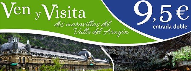 Estacion Canfranc y cueva de las Güixas