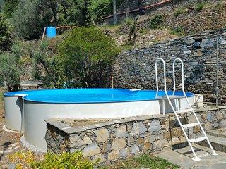 Intera Villa Pia con piscina Recco Camogli Cinque Terre A+B