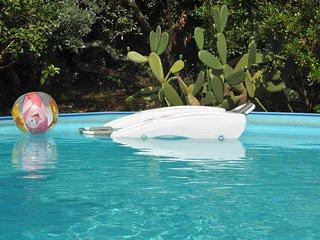 Villa Pia with pool Recco Camogli Cinque Terre - apart. B