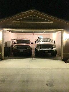 8'ft high garage door.