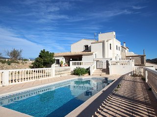Quiet Countryside Retreat w/2 Separate Villas - 2 private pools, Sleeps 20, Calpe