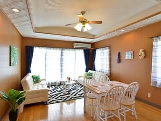 Middle of Oki, near American Village & Rycom mall, Chatan-cho
