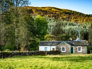 Rural self-catering, nr Tighnabruaich, Argyll, Glendaruel