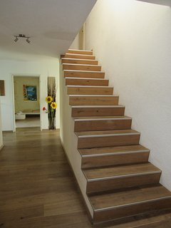 Stairs to uper floor