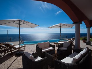 Luxury Ocean Front Villa in Calheta