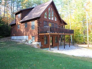 Beautiful Log Cabin with Beach Access(CAM33B), Sanbornton