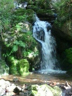 cascada de salbideko erreka
