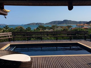 Sarava's panoramic seaview house, Búzios