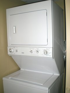 Do your laundry from the comfort of your condo.