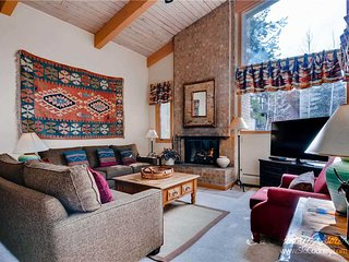 7th Night Free. Wi-Fi, Gas Fireplace, Gas Grill, Onsite Parking, Walk to Peak 9