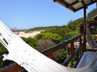 Linda/Nova Suíte com Varanda e Belo Visual - Praia da Gamboa, Garopaba