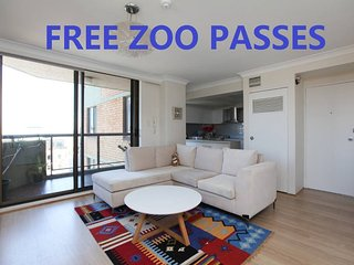 2BR Apartment Heart Of Sydney CBD NETFLIX ZOO PASS