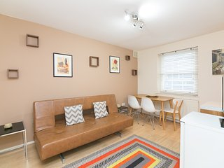 Fitzrovia Tranquil, Spacious & Bright 1 Bedroom