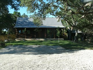 Wimberley Rustic Cedar Home, on two acres, overlooking the Blanco River.