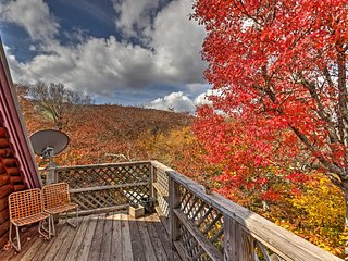 NEW! Slopeside 4BR Beech Mountain Cabin w/Hot Tub!