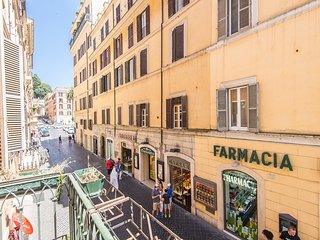 Spanish Steps Top Location