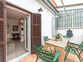 Cozy and bright studio with terrace in Rome Ponte Milvio