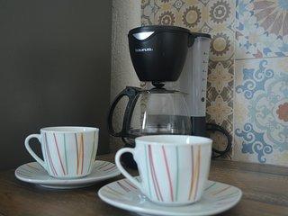 Cafetera para empezar bien el dia.