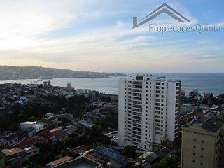 Valparaíso - Espectacular vista panorámica a la bahía, Valparaiso