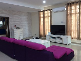 Cozy family room in central Melaka